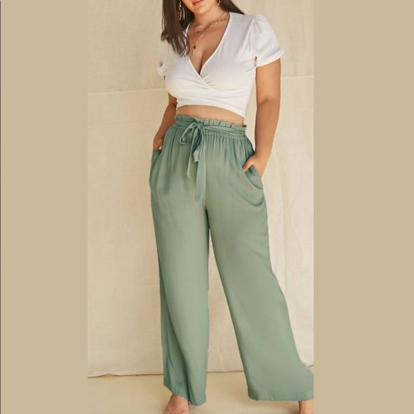 Paper Bag Mia Pants
